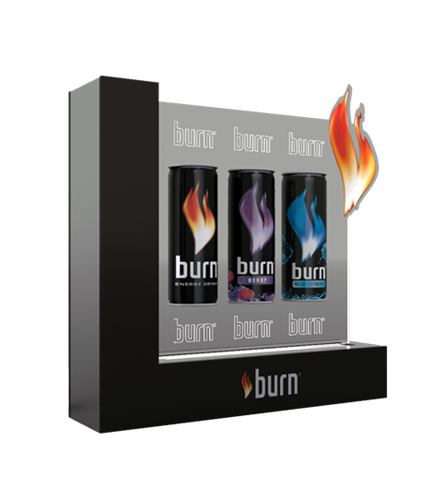 Burn bottle prezenter