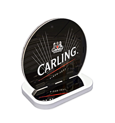 Carling menu holder