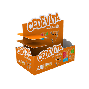 Cedevita palette decoration
