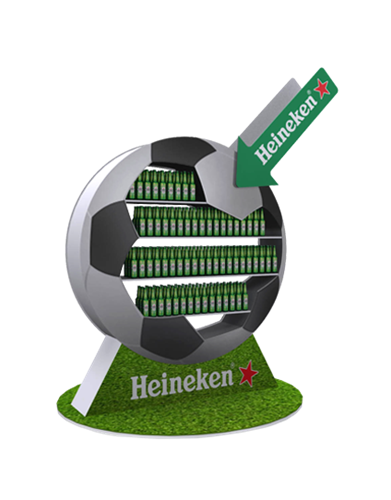 Heineken display