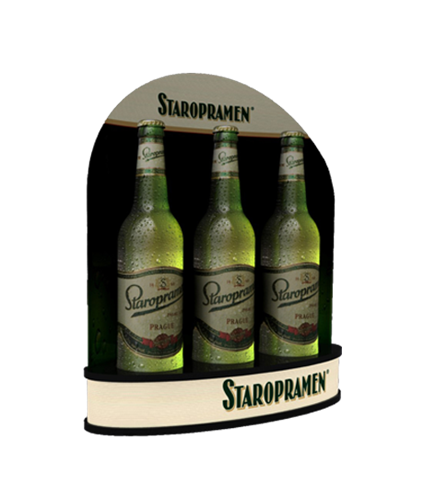 Staropramen bottle prezenter